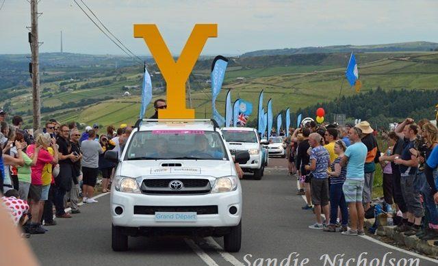 Tour de France caravan, Grand Depart Yorkshire 2014