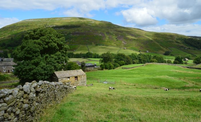 Thwaite village in Swaledale