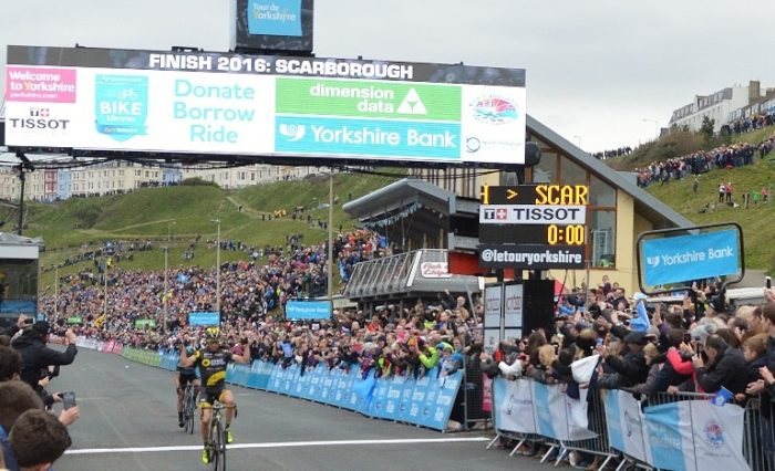 Tour de Yorkshire at Scarborough