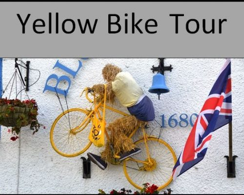 link to TDF cycling decorations